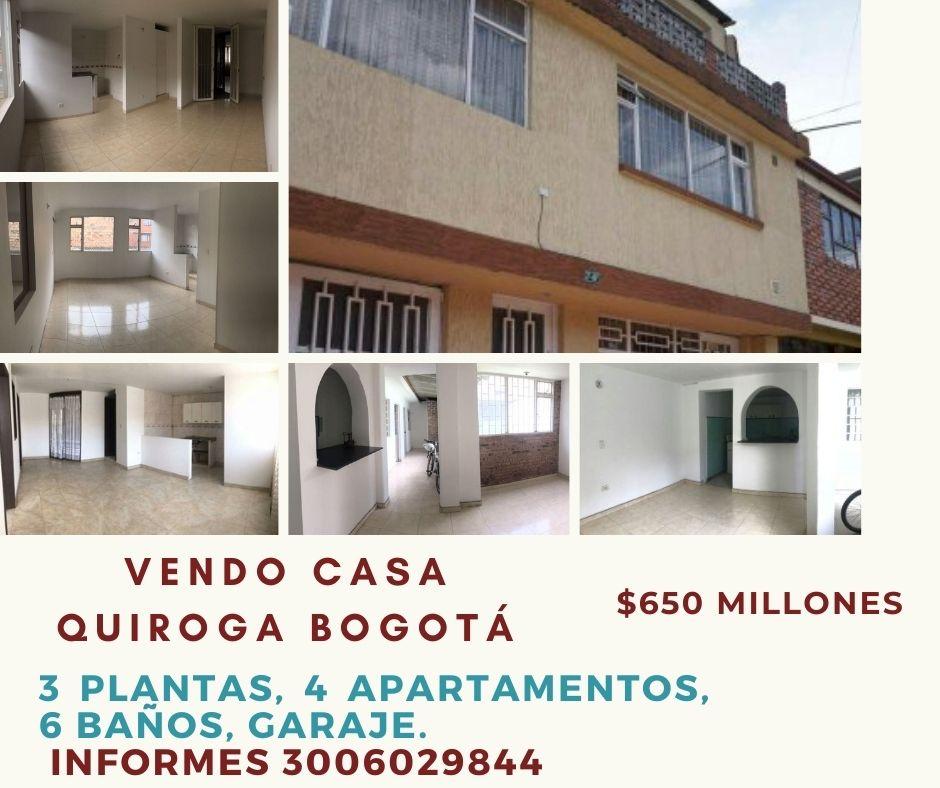 Casa, apartamentos, más… Quiroga 9 – Bogotá