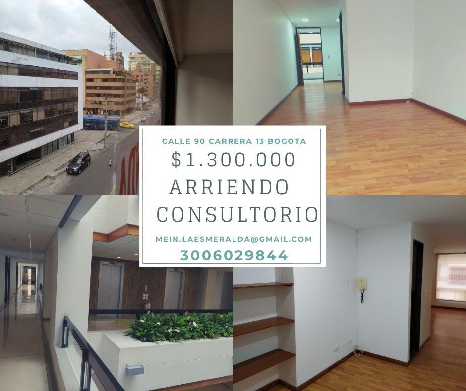 Alquiler oficina Calle 90 Bogotá