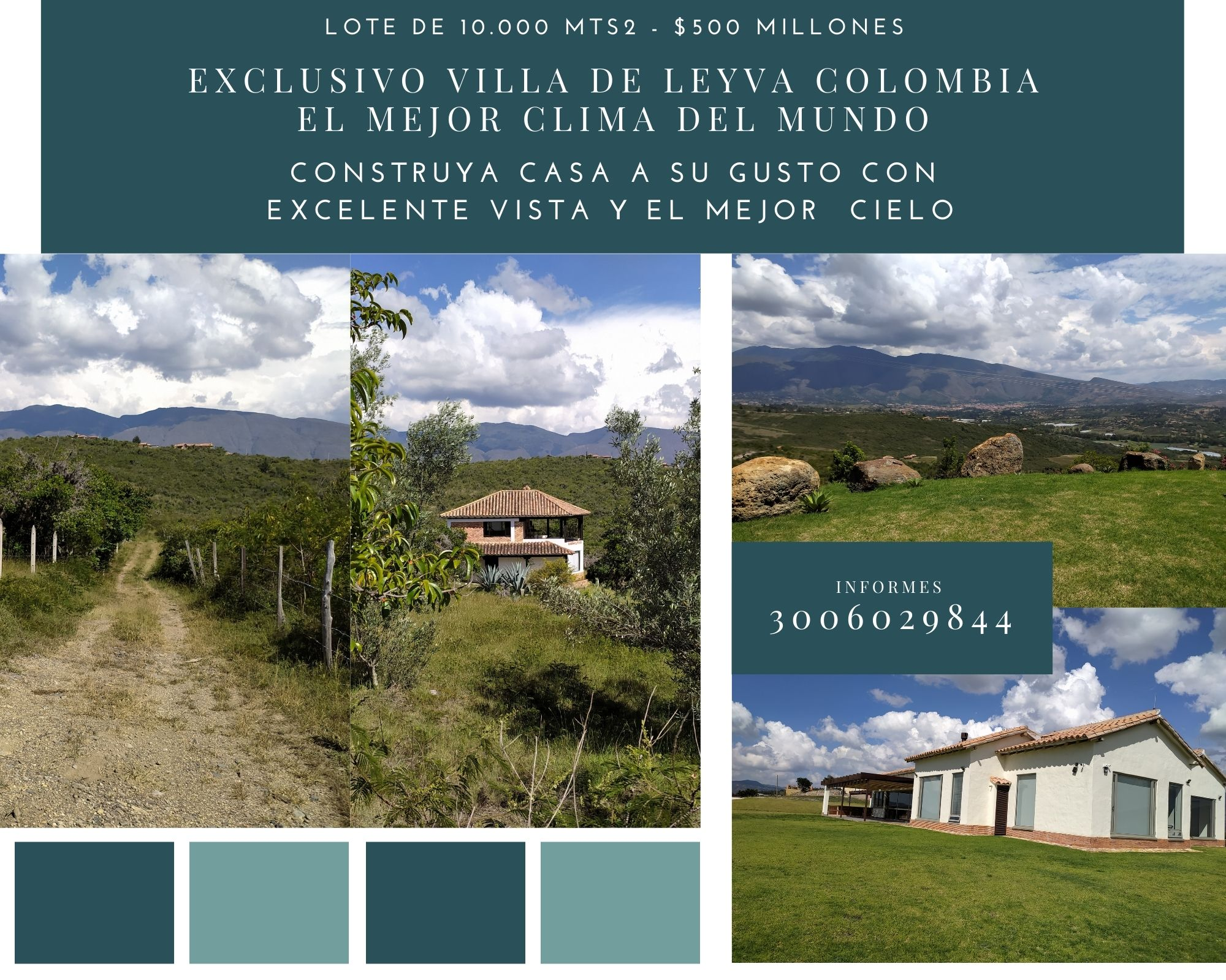 Lote en Villa de Leyva